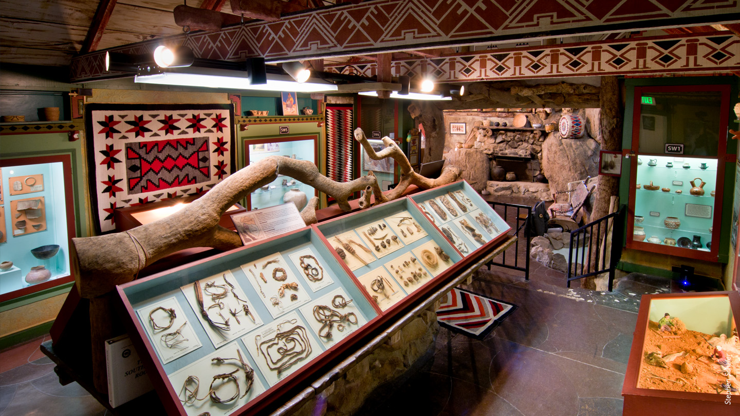 Antelope Valley Indian Museum exhibits