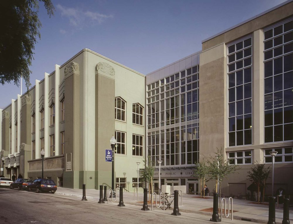 Berkeley Public Library featured in NPS Preservation Brief 14