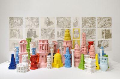 Roman Singularity in Ceramics