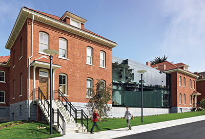 walt disney family museum adaptive reuse