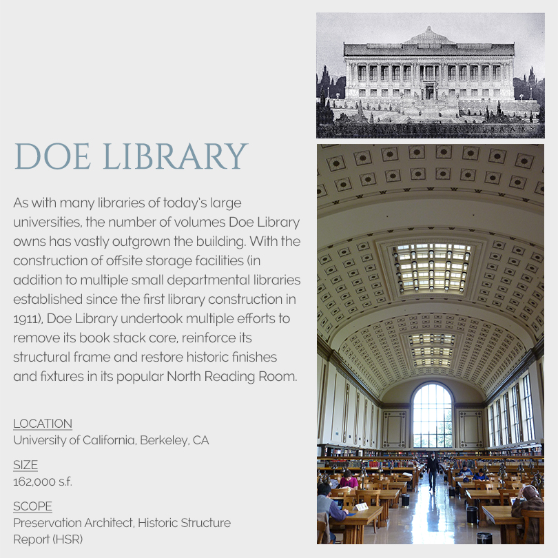 Doe Library rehabilitation