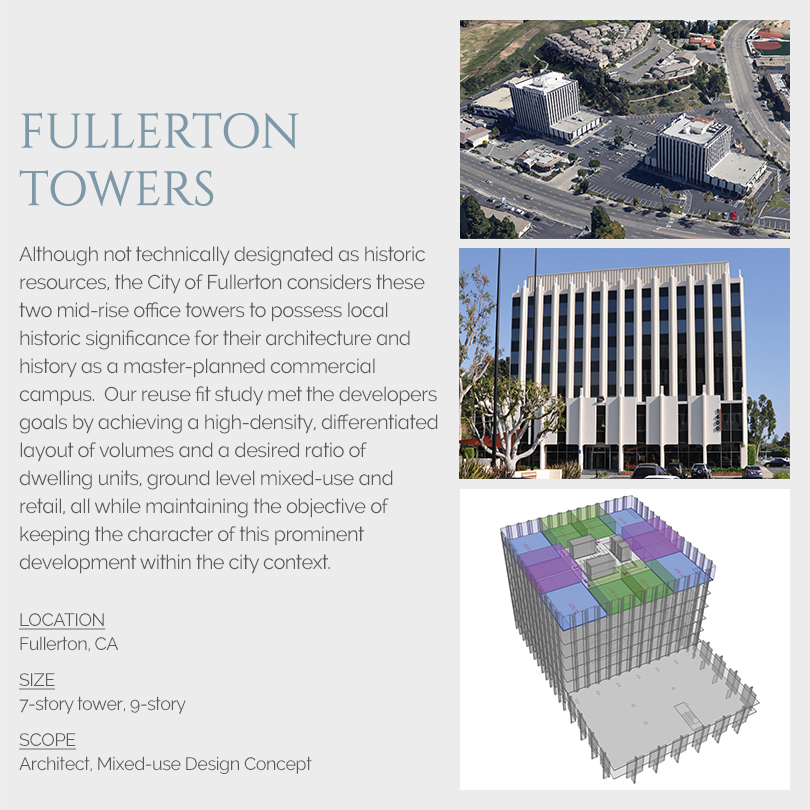 Fullerton Towers Design Concept