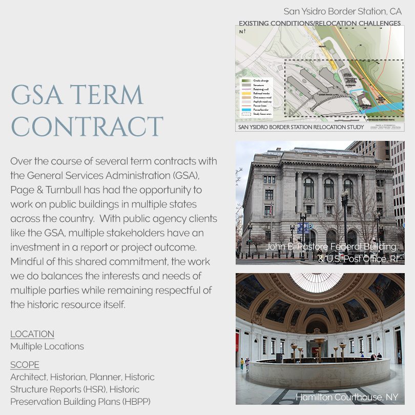 GSA term contracts