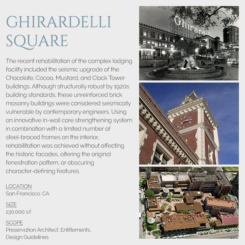 Ghiradelli Square rehabilitation