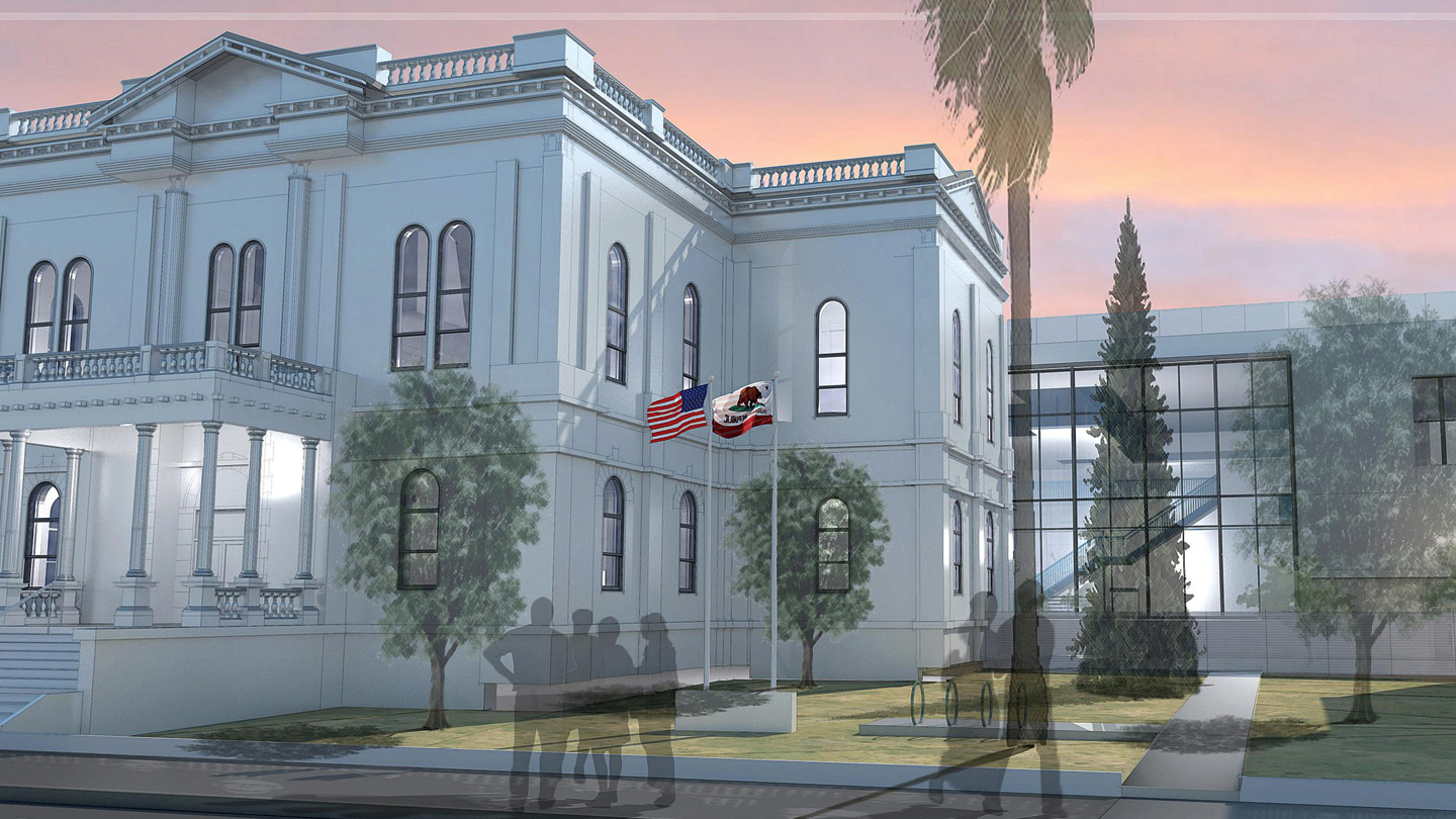 Glenn County Courthouse Street view rendering