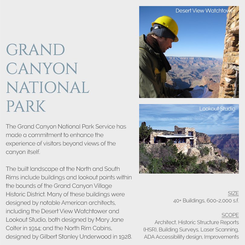 Grand Canyon National Park Rehabilitation