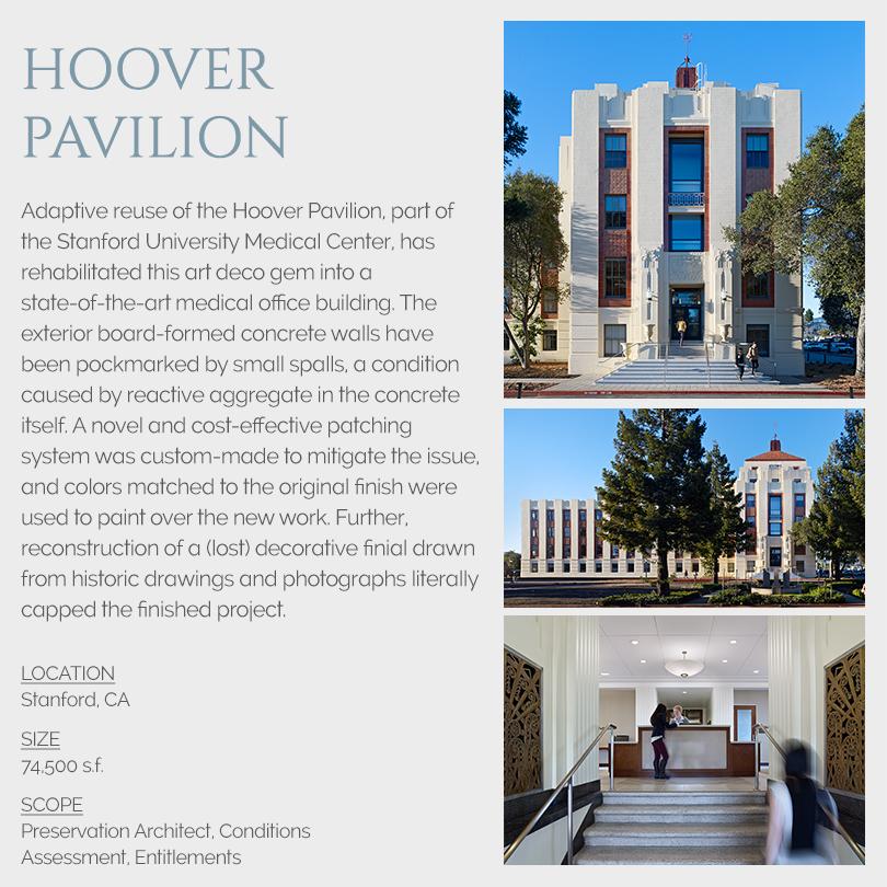 Hoover Pavilion rehabilitation