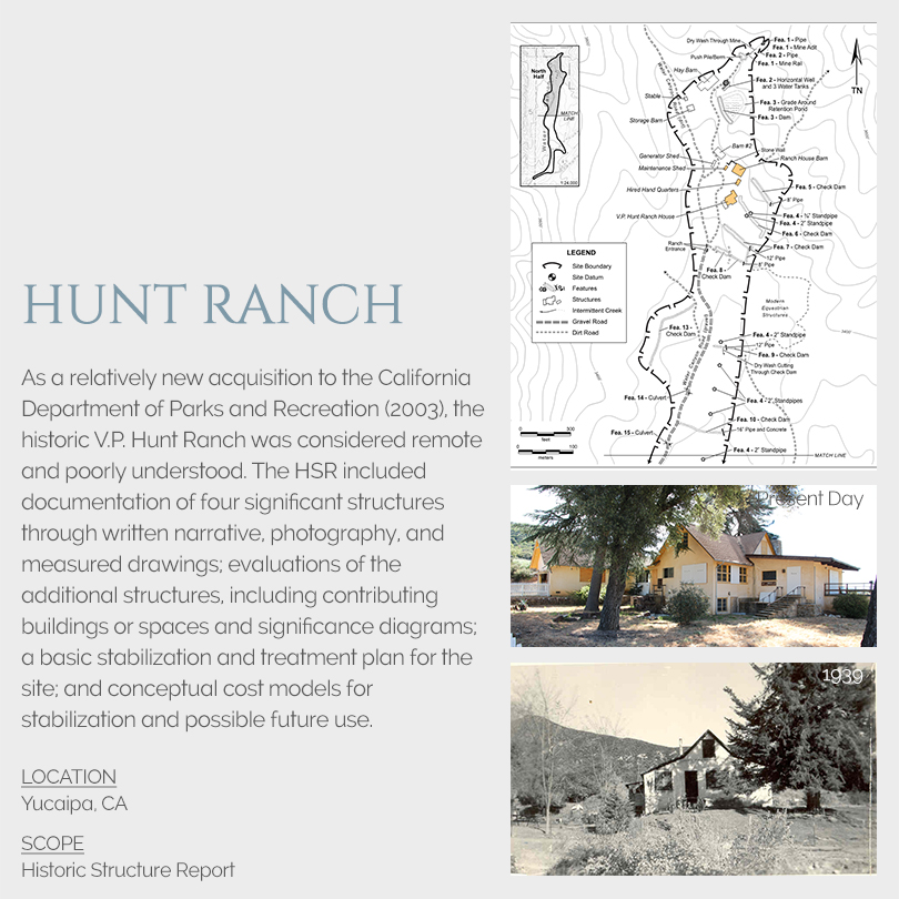 Hunt Ranch Historic Structure Report