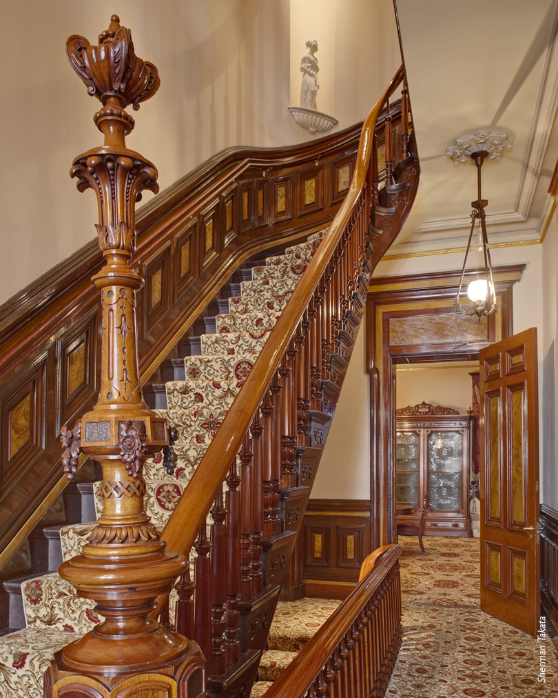 Leland Stanford Museum staircase
