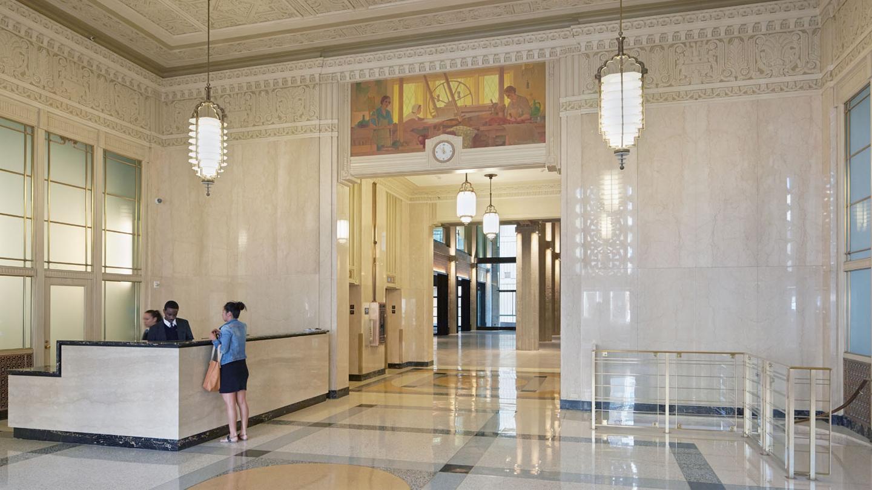 Market Square historic lobby