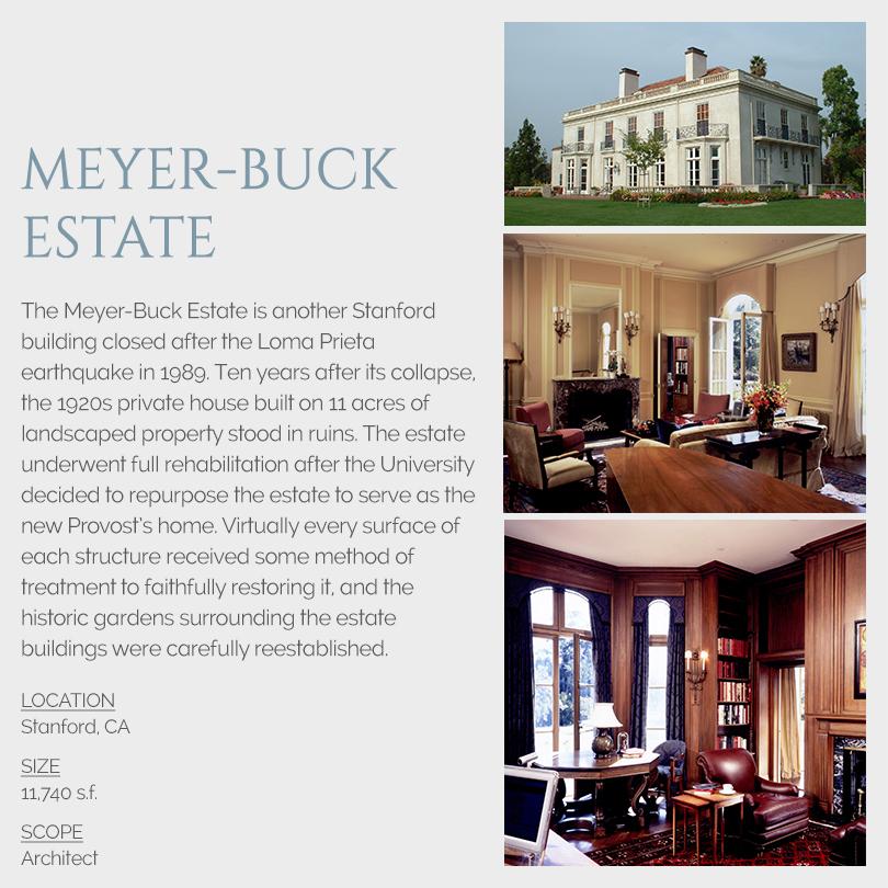Meyer-Buck Estate rehabilitation