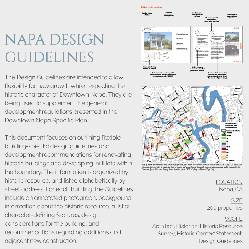 Napa Design Guidelines