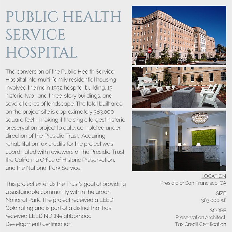 Public Health Service Hospital tax credits