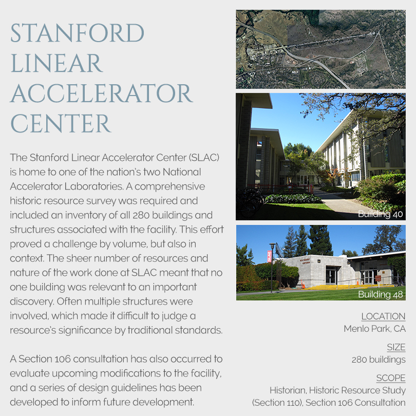 SLAC Section 106 Review
