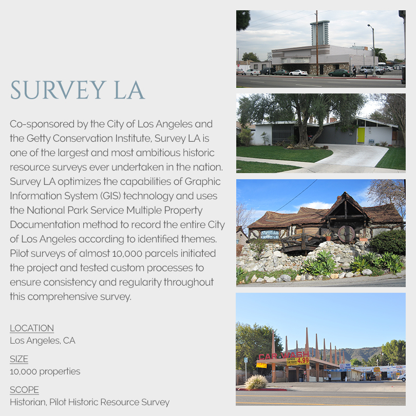 Survey LA building surveys