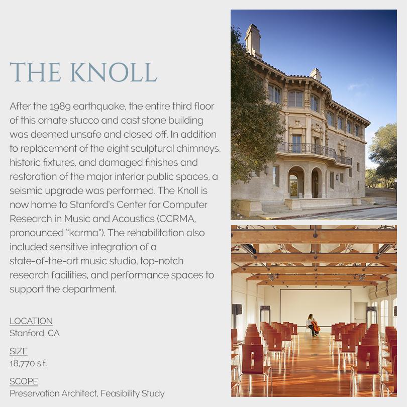 The Knoll rehabilitation