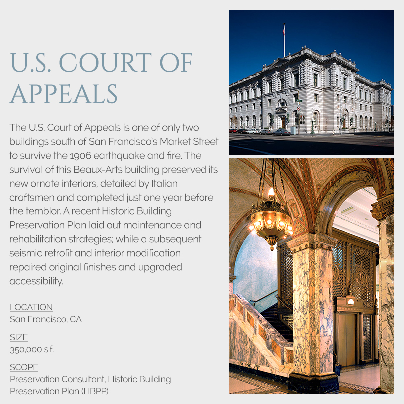 U.S. Court of Appeals, San Francisco rehabilitation