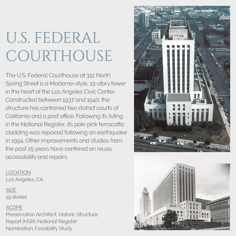 U.S. Federal Courthouse, Los Angeles rehabilitation
