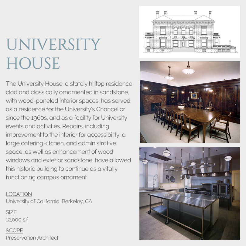 University House rehabilitation