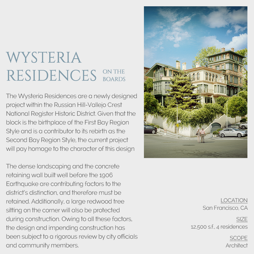 Wysteria Residences Architect