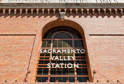 sacramento valley station, amtrak